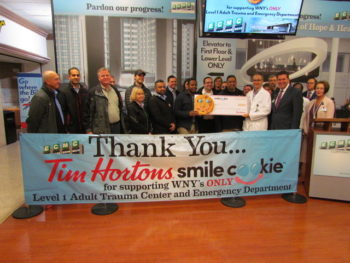 Record Setting Campaign Supports ECMC Trauma and Emergency Department
