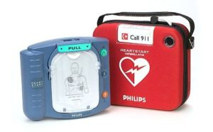 AED photo - Philips HeartStart