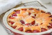 Fresh Strawberry Cake: Yum!