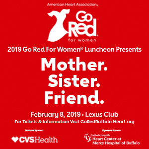 Go Red Banner Ad Buffalo Healthy Living Magazine