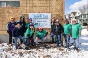 Kaleida and M&T Build Habitat Home