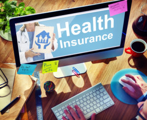 Health Insurance Safety Healthcare Protection Office Working Concept