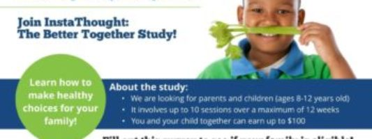 InstaThought: The Better Together Study