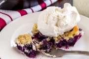 Light and Luscious Blueberry Cobbler