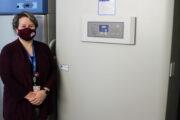 Memorial receives special freezer for storing Pfizer Covid-19 vaccine