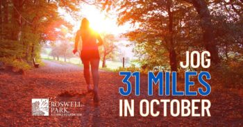 Jog 31 Miles in October for Pediatric Patients and Roswell Park