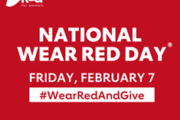 National Wear Red Day® brings awareness to women's No. 1 health threat