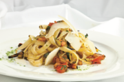 Pappardelle with Garden Vegetables