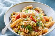 Pasta Primavera with Roasted Summer Vegetables