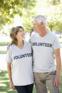 Volunteering is great for healthy aging!