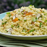 Warm Couscous Salad with Apricot Vinaigrette (1)