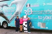 Windsong Mobile Mammography Unit at Komen More than Pink Walk