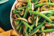 Green Beans with Mushrooms and Onions Recipe