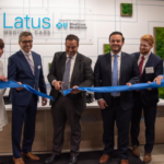 bluecross latus medical ribbon cutting