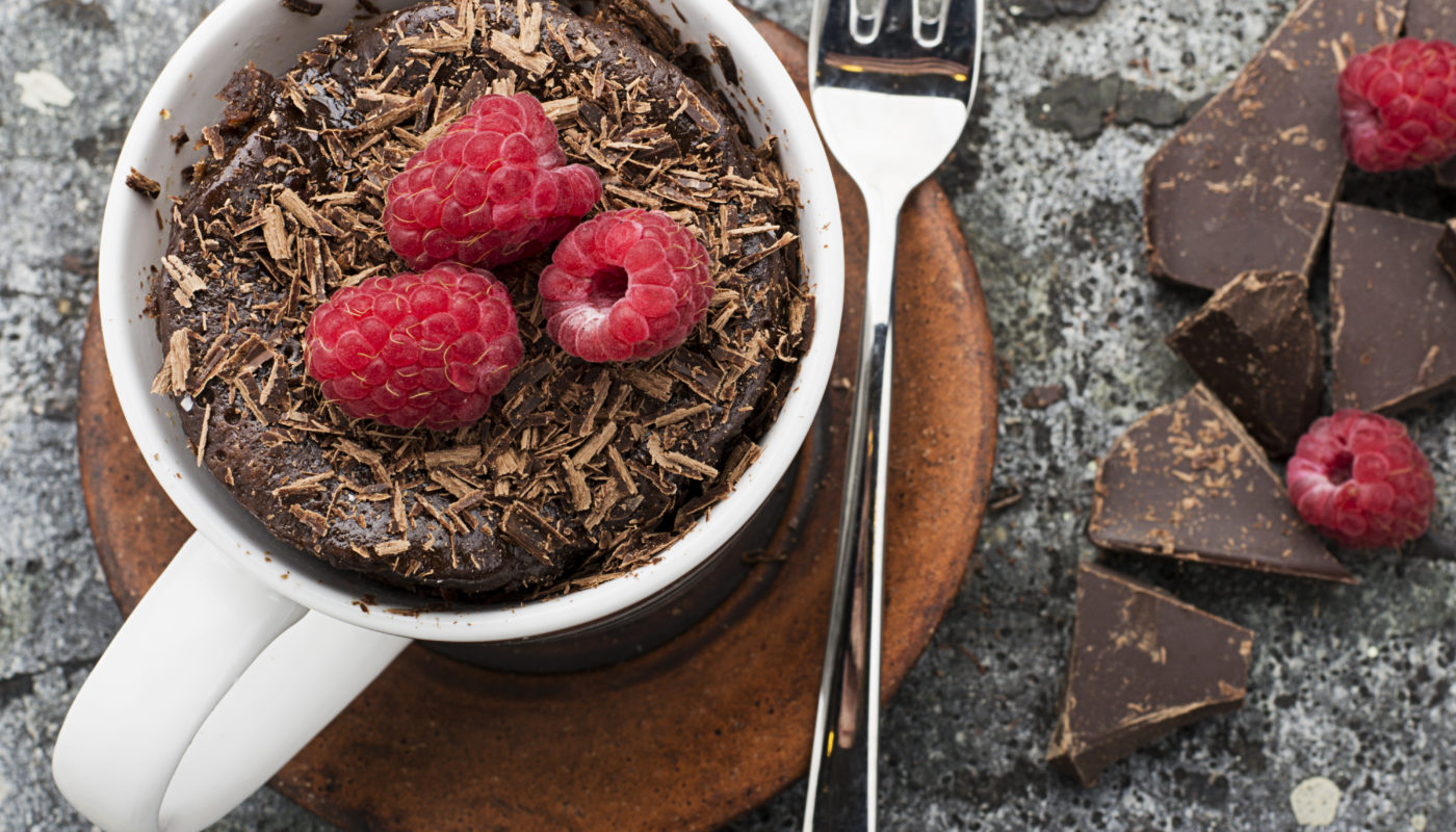 30-Second Chocolate Cake - Just 100 Calories!