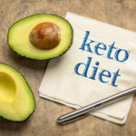 keto diet handwriting on napkin